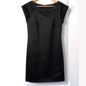 Max and Cleo black embellished dress size 6